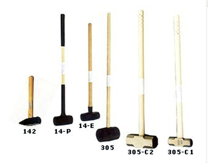 SLEDGEHAMMERS AND HAMMERS
