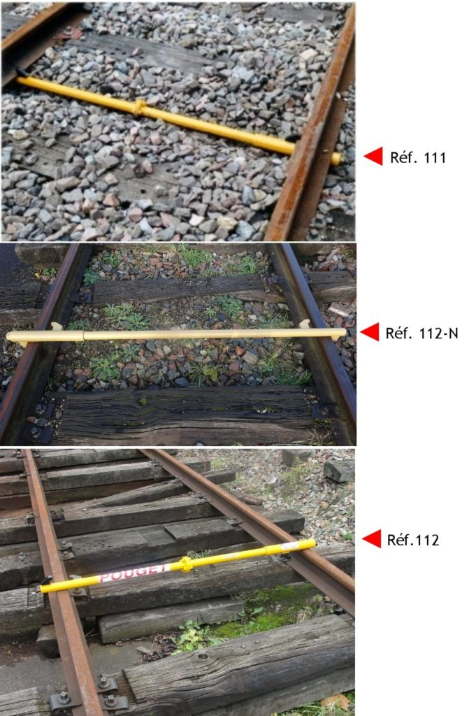 DEVICE TO WIDEN OR NARROW THE GAUGE