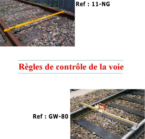 GAUGES FOR TRACK (RAIL MEASURING DEVICES)