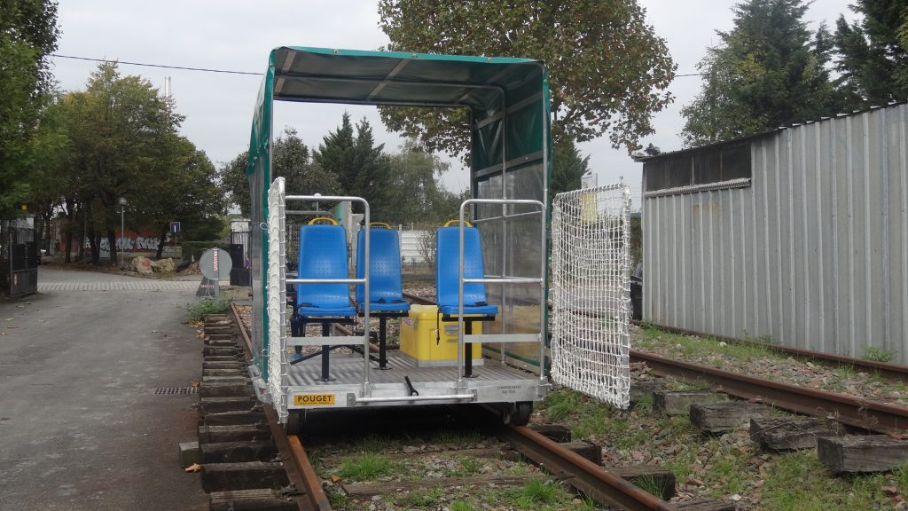 POUGET «PM-12-BEL» TRACK INSPECTION VEHICLE