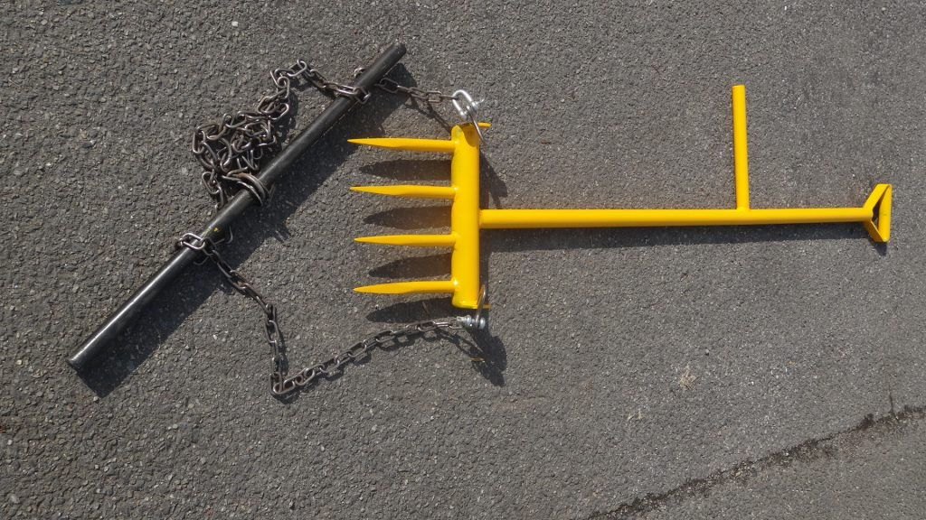 BALLAST PLOUGH with Welded Prongs