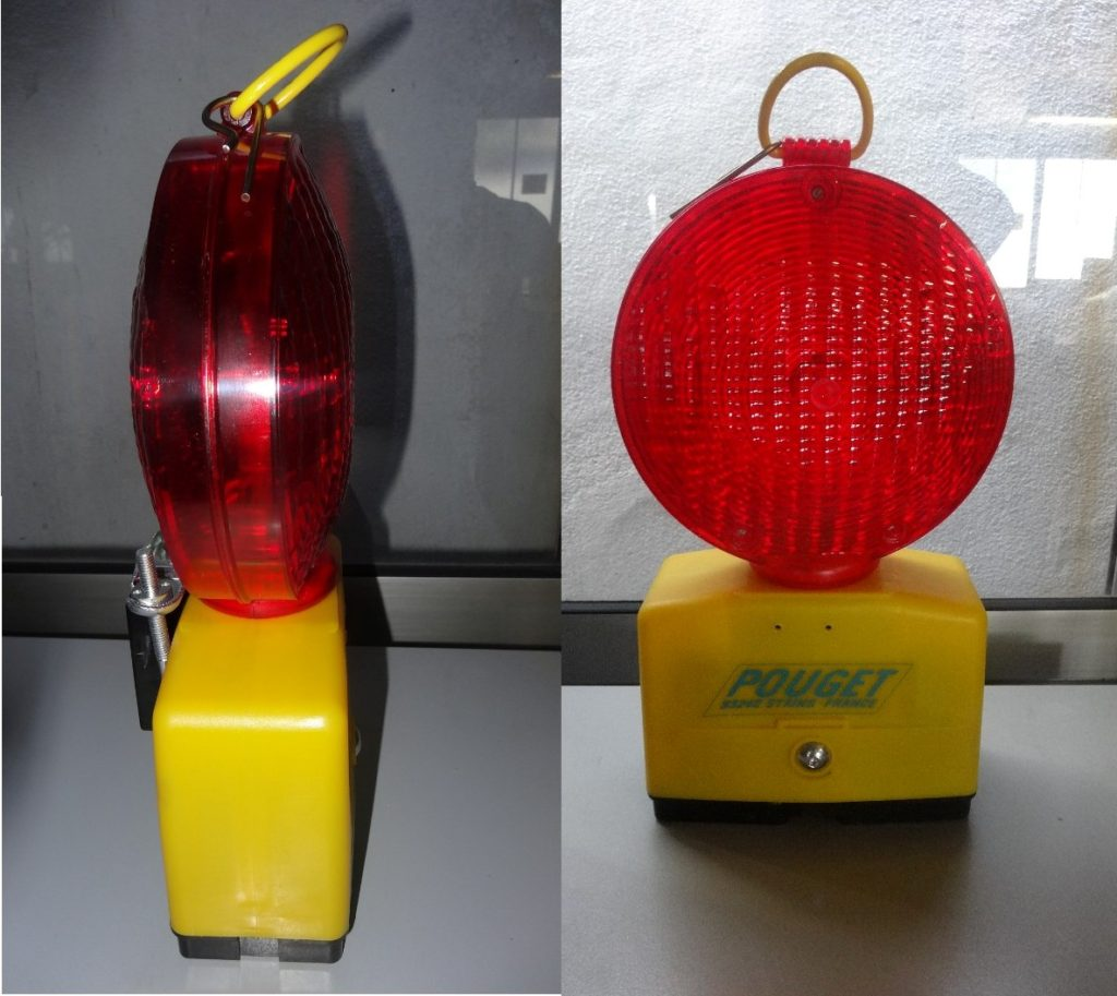 (English) LAMPE DE COUVERTURE ROUGE L7F